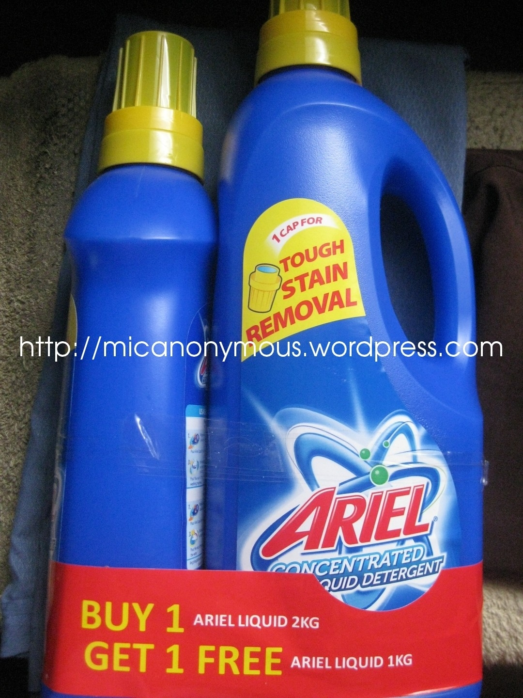 Ariel Concentrated Liquid Detergent – Micah The Missus
