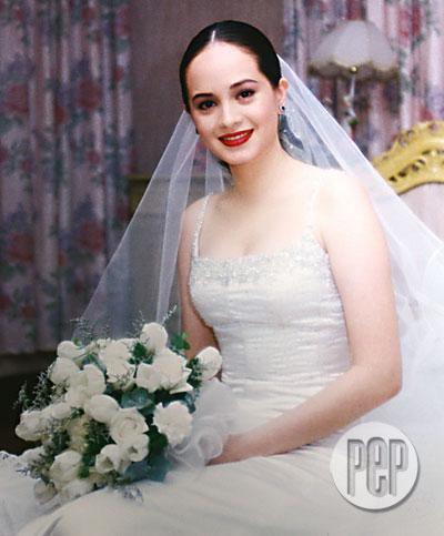 Philippine celebrity brides micah the missus for Civil wedding dress philippines