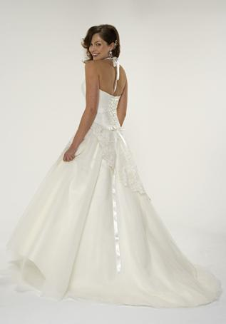 What type of gown suits your body type best micah the for Drop waist wedding dress body type